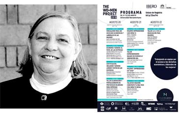 Sylvia Schmelkes presente en MujerEs IBERO