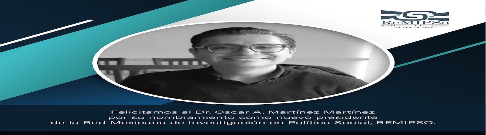 El Dr. Óscar Martínez, presidente de la Red Mexicana de Investigación en Política Social